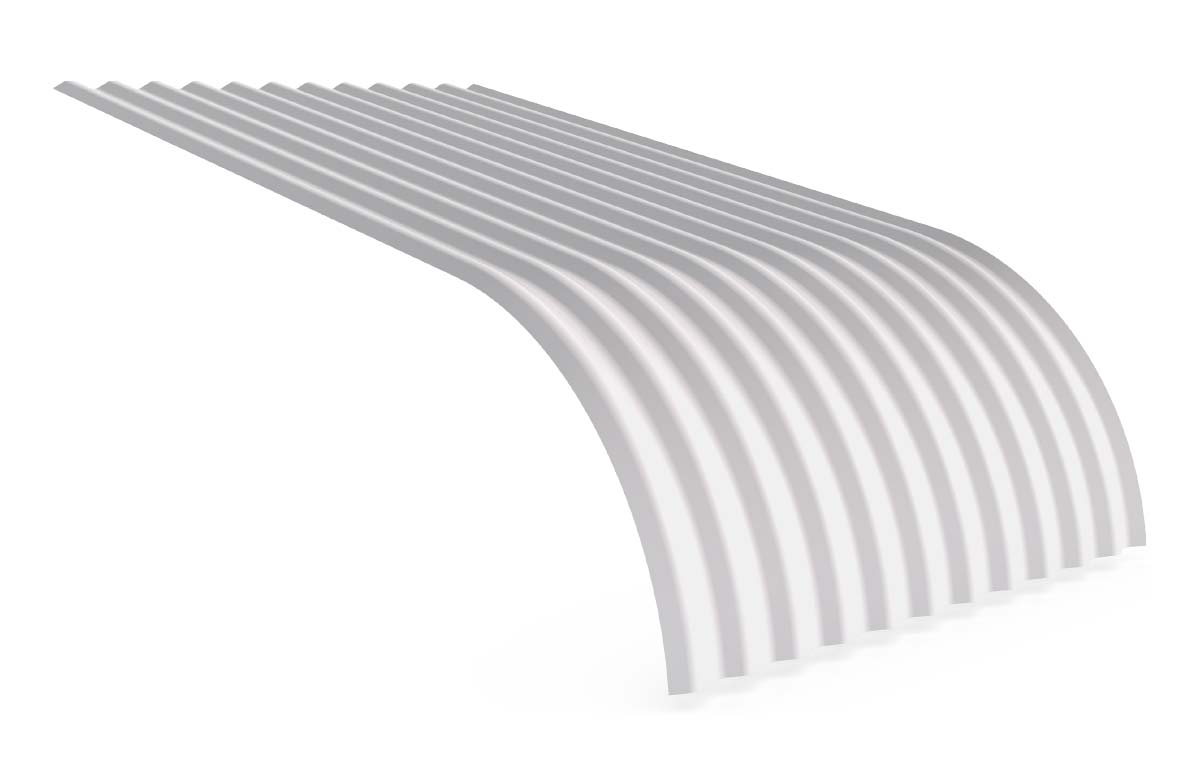 Curved Roofing Sheets : Roof cladding styles gold coast roofing